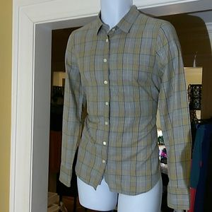 J. Crew ladies button down dress shirt